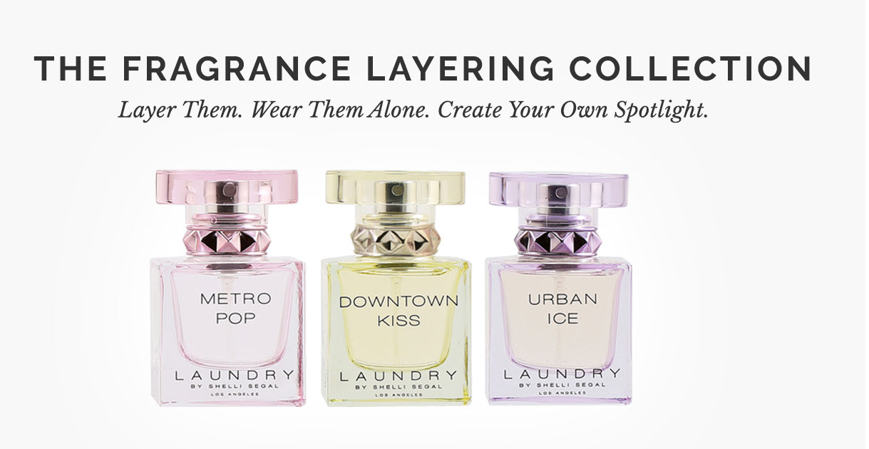 Introducing the Fragrance layering collection. Layer them wear them alone create your own spotlight. View the collection
